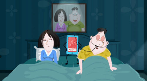 สามีนอนกรน thaiosa นอนกรน หยุดหายใจตอนนอน6