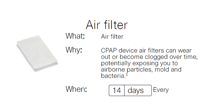 Z7 วิธีการบำรุงรักษาเครื่อง CPAP ให้ใช้งานได้นานขึ้น2